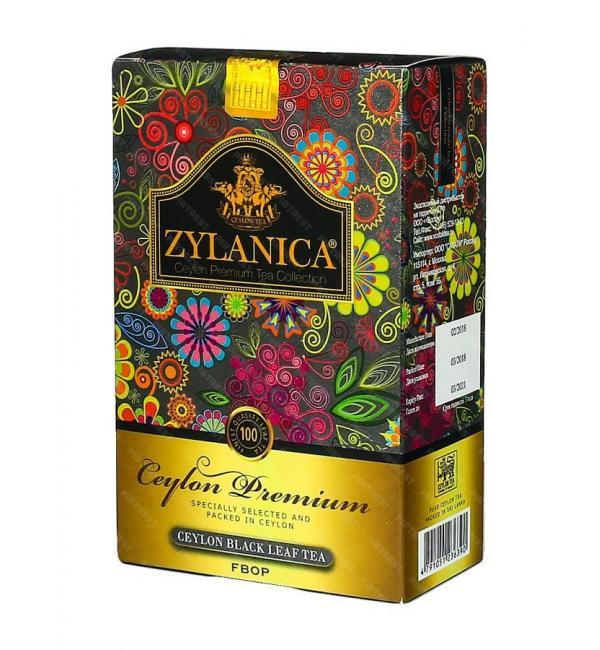 Чай черный Zylanica FBOP Medium Leaf Tea 100г