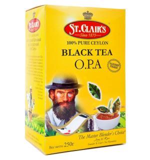 Чай черный St.Clairs O.P.A. 250г