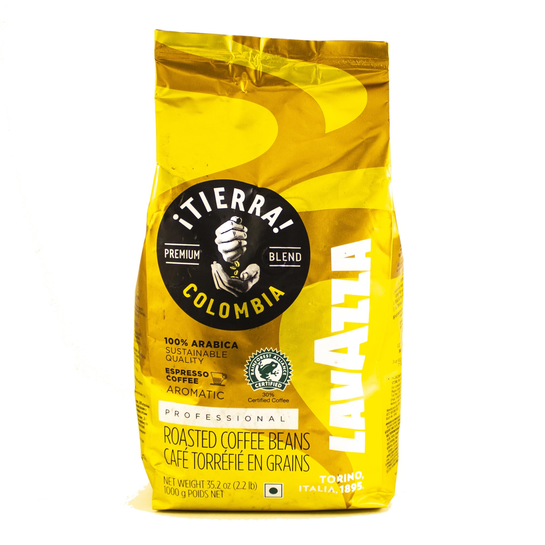 Кофе зерновой Lavazza Tierra Colombia 1кг купить по цене 55.00 руб. в Минске